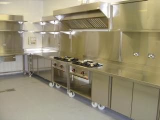 Catering equipment installed