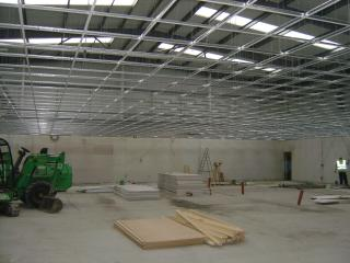 Suspended ceiling erection