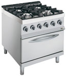 Whirlpool AGB 486/WP Dual Fuel Oven Range
