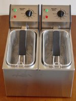 Rollergrill FD 80D Double Countertop Fryer