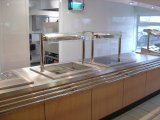 Hot foodservice counter